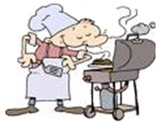 Guy on Grill